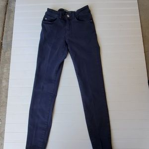 Zara Basic Denim Dark Wash Size 2
